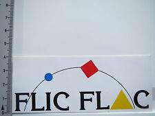 Aufkleber Sticker Flic Flac (5539)