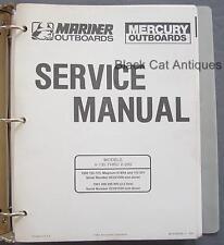 Original 1990 Mercury Mariner Outboards Service Manual Models V-135 Thru V-200