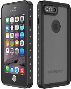 iPhone 7 Plus/8 Plus Waterproof Case, OUNNE Underwater Black-Translucent cove
