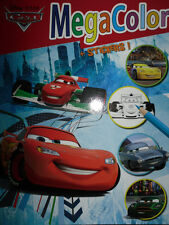 Disney Cars motivos libro para colorear * * 128 motivos * din a 4 * Megacolor + sticker * nuevo (Lightning)