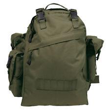 TACTICAL ARMY BACKPACK COMBO RUCKSACK PATROL BAG CADET HIKING CAMPING 40L OLIVE
