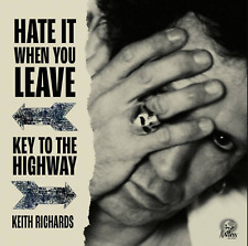 """KEITH RICHARDS Hate It When You Leave & Key To The Highway RSD 2020 7"""" RED VINYL"""