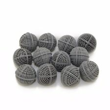 "12pcs Aquarium Bio Balls 2"" Wet/Dry Filter Media Fish Tank Pond Reef Reusable"