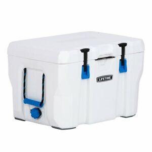 Lifetime 55 Quart High Performance Cooler - White, 90895