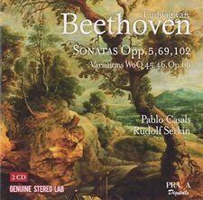Pablo Casals - Beethoven Complete Cello Sonatas [CD]
