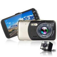 4in 1080P FULL A Dual Lens Autokamera DVR Video KFZ Recorder Dashcam G-Sensor DE