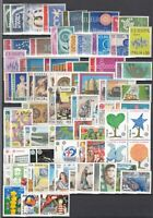 BX6885/ ITALY - EUROPA – 1956 / 2002 COMPLETE MINT – CV 245 $