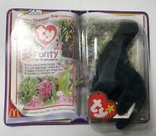Ty 1995 Rare McDonald's Bronty The Brontosaurus Teenie Original Baby