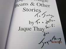 JAQUE'S MAGIC BEANS AND OTHER STORIES JAQUE THAY SIGNE 2010 PAPERBACK