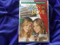 WHEN IN ROME_DVD_MARY-KATE & ASHLEY OLSEN_REGION 4 Aust RARE