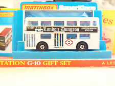 Vintage Matchbox Lesney SUPER KINGS K-15 The Londoner 'London Dungeon Bus