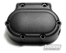 Getriebedeckel Seitendeckel Transmission Cover für Harley 5-Gang matt schwarz