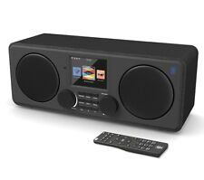 Majority Internet Radio DAB/DAB+/FM Bluetooth USB Charging, Dual Alarm Clock