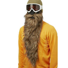 Beardski Big Country Long Brown Insulated Thermal Ski Winter Beard Face Mask +