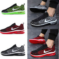 Mens Womens Fashion Running Breathable Shoes Sports Casual Walking Sneakers