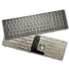 Teclado para HP EliteBook 8560w 8570w de teclado con trachpoint