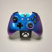 Xbox One S Custom Controller Chameleon Blue and Purple Themed Refurbished