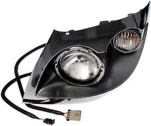Lt Headlight Ass`y Dorman 888-5102,3605816C92 Fits 01-19 International 7300 7400