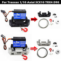 25T Servolenkgetriebe Windenhalterungssatz für Traxxas 1/10 Axial SCX10 TRX4 D90