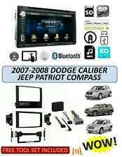 2007-2008 DODGE JEEP CALIBER COMPASS PATRIOT Stereo Kit,Bluetooth TOUCHSCREEN