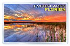 EVERGLADES FLORIDA FRIDGE MAGNET SOUVENIR IMAN NEVERA