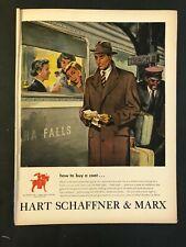 1948 Hart Schaffner & Marx Ad