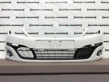 PEUGEOT 308 ACTIVE 2014-2017 FRONT BUMPER IN WHITE GENUINE [C70]