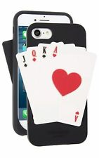 Kate Spade Silicone Phone Case, Deck of Cards, IPhone 7, NEW in Box