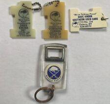 Buffalo Bills and Buffalo Sabres Keychains