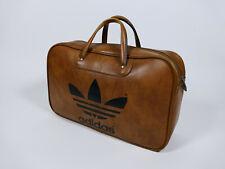 adidas vintage bag peter schwarz brown leather original