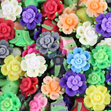 20pcs/lot 20mm Mixed Polymer Fimo Clay Flower Loose Jewelry Spacer beads