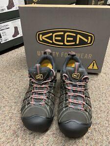 Keen Womens Steel Toe Flint Low  1014598 Size 11 Med New In Box