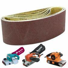 10 Sanding Belts 100mm x 610mm 120G Makita M9400, 9404 & Triton T41200BS Sanders