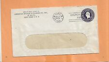 AMERICAN SPONGE & CHAMOIS CO 1944 NY  VINTAGE ADVERTISING COVER =