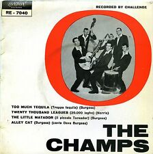 THE CHAMPS TOO MUCH TEQUILA EP ITALY EX- EX