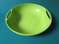 """Branchell Color Flyte Lime Green Melmac ROUND 3 X 12""""  Bowl   [*77E]"""
