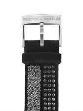 Swarovski for Samsung Smartwatch Band for Gear S2 Black 20mm (GP-R732SWEEADB) VG