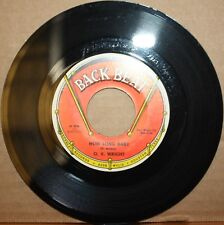 O.V. WRIGHT Gone For Good *HOW LONG BABY* Soul Blues 45 on BACK BEAT 558