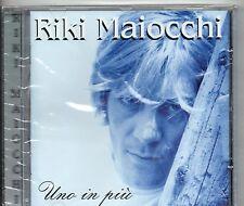 RIKI MAIOCCHI CD UNO IN PIU Sealed MADE in ITALY Lucio Battisti SIGILLATO