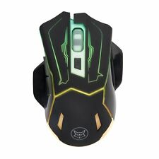 SROCKER E60 2.4GHz Wireless Rechargeable Silent Mouse/Mice 3 Level with 6 LED