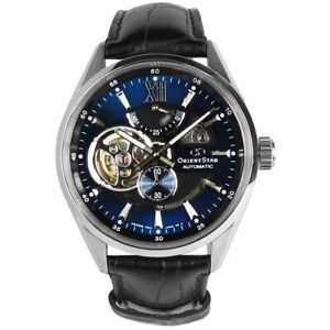 Orient Star Semi Skeleton Blue Dial Men's Watch AV0005L