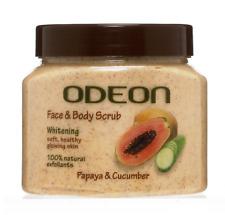 ODEON Face & Body Scrub Papaya & Cucumber
