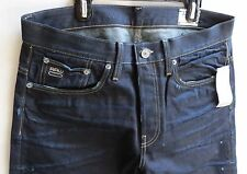 G-star Raw Men Jeans 3301 Straight 32 W x 30 Dark Aged Brand New with Tags
