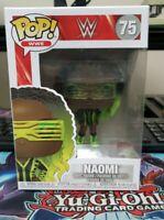 Funko POP! WWE Wave 11 Vinyl Figure - NAOMI #75 - New in Box- FREE SHIPPING