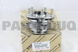 SU00300782 Genuine Toyota HUB SUB-ASSY, FRONT AXLE, RH/LH SU003-00782