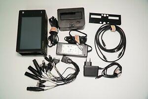 CINEDECK Extreme Hi-Brite Recorder FULL kit with V-LOCK batter mount