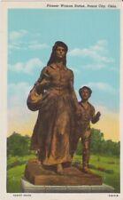 Pioneer Woman Statue-PONCA CITY, Oklahoma