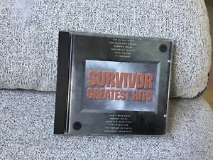 Survivor greatest hits CD 80s in the UK who