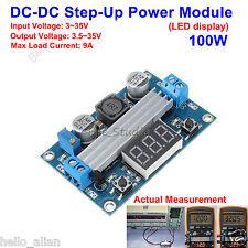 100W DC-DC Boost Step up Converter 3V-35V to 3.5-35V Power Supply LED Voltmeter