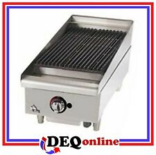"Star 6015CBF Star-Max 15"" Heavy Duty Lava Rock Gas Char-Broiler"